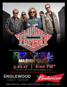 Opening for Night Ranger @ Englewood Event Center   Englewood   Florida   United States